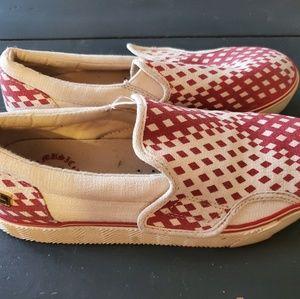 L.A.M.B. slip-on sneakers, pre-worn, size 7.5